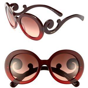 Prada 'Baroque' Sunglasses 55mm